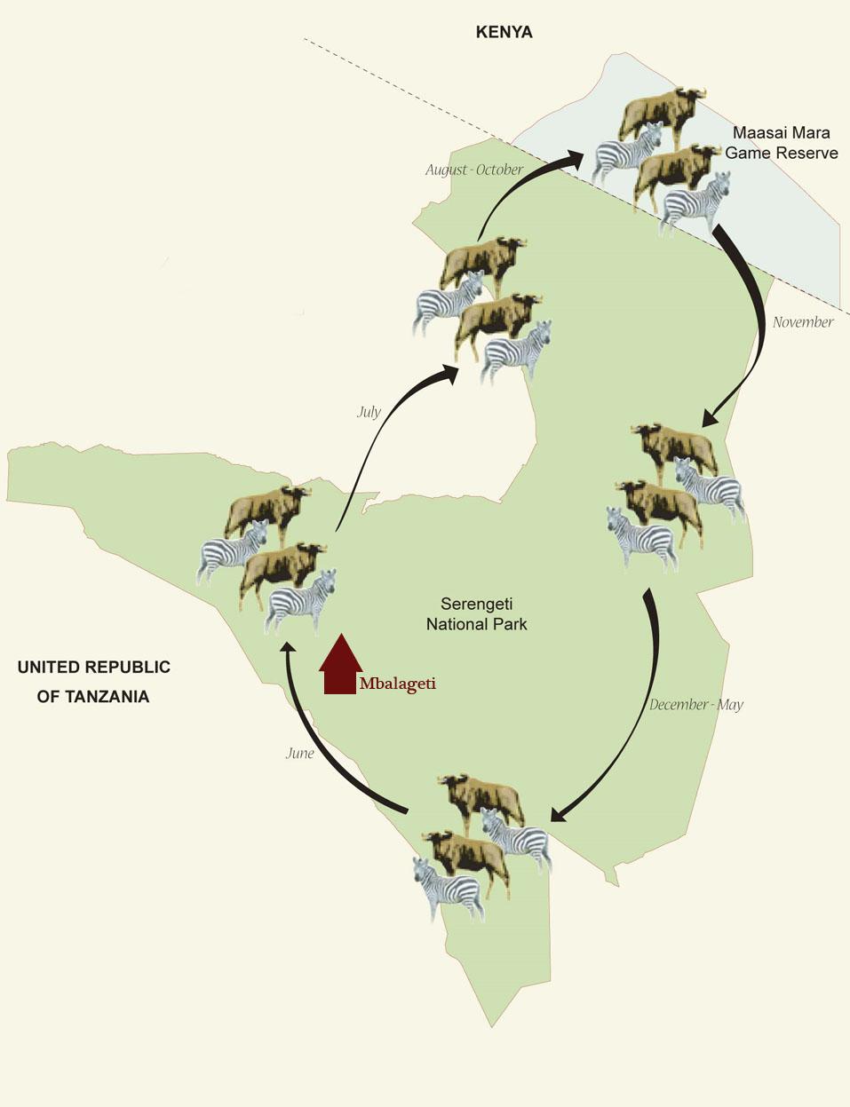 Карта расположения Mbalageti (Мбалагети)
