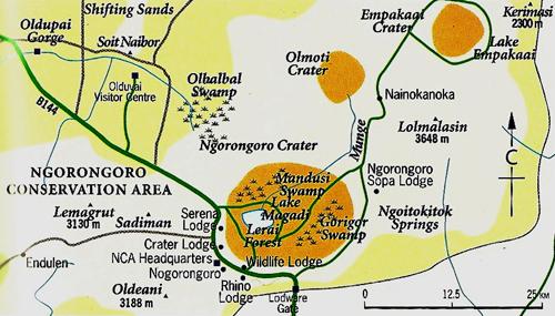 The Manor at Ngorongoro Lodge Ngorongoro Conservation Area
